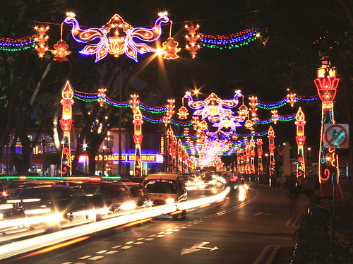 diwali lights in little india - janak samtani
