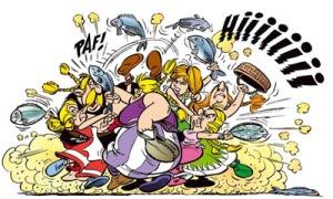 village fishfight