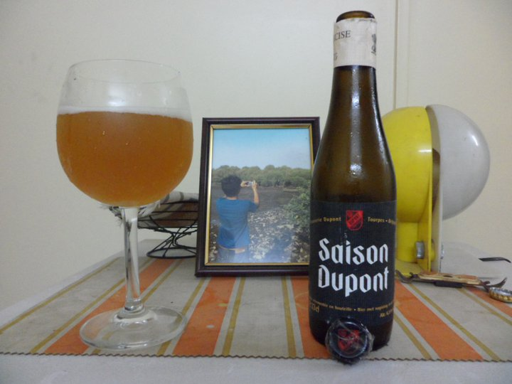 Beer Review Saison Dupont