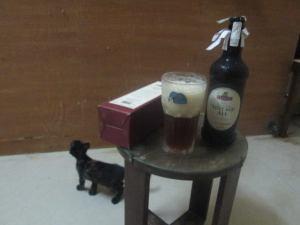 fuller's vintage ale 2011 pour