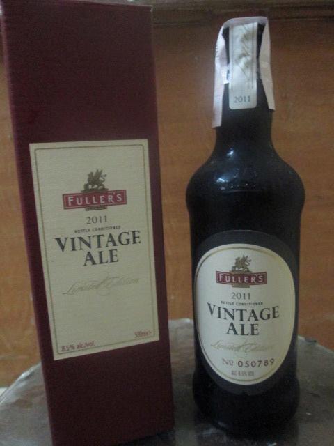 fuller's vintage ale 2011