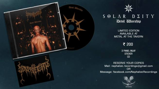 solar deity devil worship physical copies