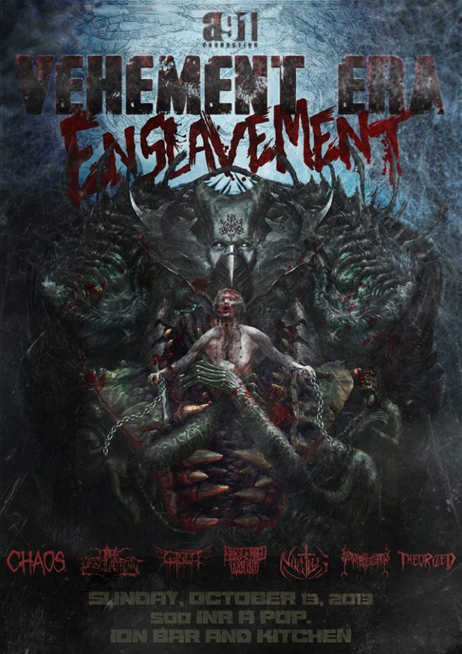 vehement era enslavement poster
