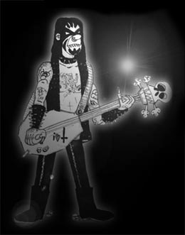 bass black metal