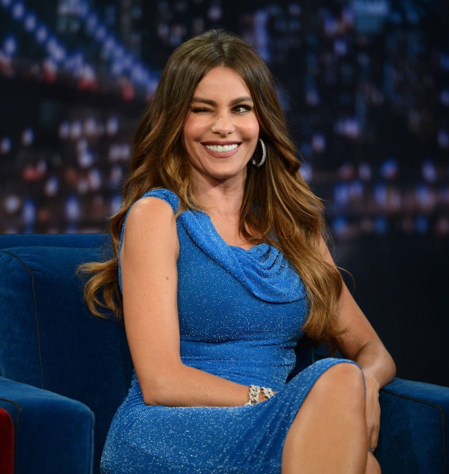 SOFIA VERGARA on Late Night With Jimmy Fallon