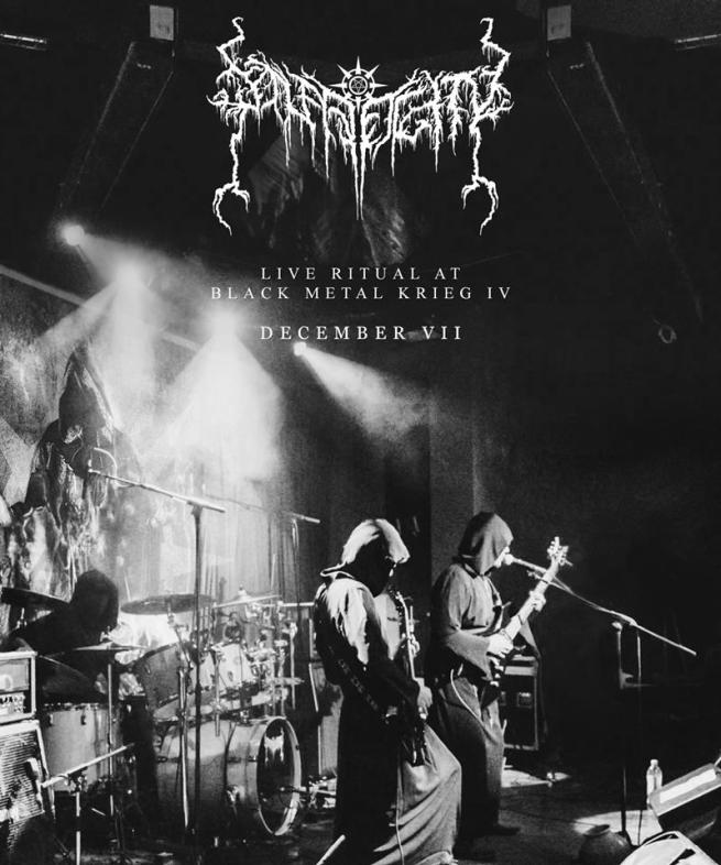 solar deity live black metal band